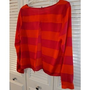 Urban Outfitters striped blouse
